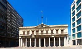 Κυβερνητικό σπίτι μουσείων σε Plaza Independencia στο Μοντεβίδεο Στοκ Φωτογραφία