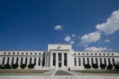 Κυβερνητικό Συμβούλιο Κεντρικής Τράπεζας των ΗΠΑ που χτίζει την μπροστινή άποψη Στοκ εικόνα με δικαίωμα ελεύθερης χρήσης