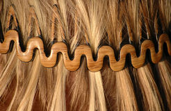 κυκλίσκος hairstyle Στοκ φωτογραφία με δικαίωμα ελεύθερης χρήσης