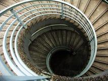 κυκλικά σκαλοπάτια Στοκ Εικόνες