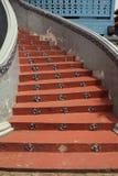 κυκλικά σκαλοπάτια Στοκ φωτογραφίες με δικαίωμα ελεύθερης χρήσης