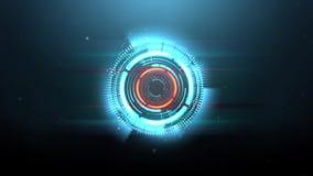 Κυκλικά υπόβαθρα κυμάτων φάσματος βακκινίων HD ελεύθερη απεικόνιση δικαιώματος