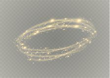 Κυκλική διαφανής ελαφριά επίδραση φλογών φακών Αφηρημένη διαγώνια έλλειψη Περιστροφική γραμμή πυράκτωσης Ενέργεια ισχύος Καμμένος Στοκ εικόνες με δικαίωμα ελεύθερης χρήσης