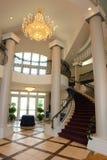 κυκλική σκάλα εισόδων Στοκ Φωτογραφία