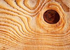 Κυκλικός κόμβος στο ξύλο στοκ εικόνα με δικαίωμα ελεύθερης χρήσης