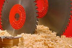κυκλικό πριόνι Στοκ φωτογραφία με δικαίωμα ελεύθερης χρήσης
