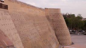 Κυκλικό φρούριο θόλων τούβλου απόθεμα βίντεο