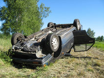 κυκλοφορία ατυχήματος Στοκ φωτογραφία με δικαίωμα ελεύθερης χρήσης