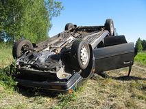 κυκλοφορία ατυχήματος Στοκ Εικόνες