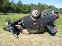 κυκλοφορία ατυχήματος Στοκ Φωτογραφία