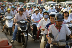 κυκλοφορία Βιετνάμ κόλα&si στοκ φωτογραφία με δικαίωμα ελεύθερης χρήσης