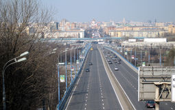 κυκλοφορία γεφυρών Στοκ εικόνες με δικαίωμα ελεύθερης χρήσης