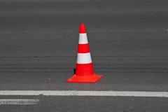 κυκλοφορία οδών κώνων Στοκ εικόνα με δικαίωμα ελεύθερης χρήσης