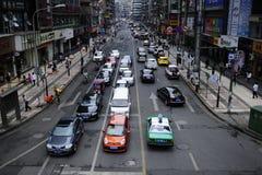 κυκλοφορία οδών πόλεων στοκ εικόνα