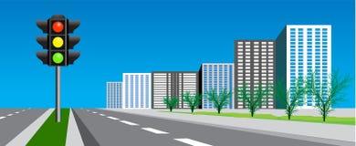 κυκλοφορία σημάτων Στοκ εικόνα με δικαίωμα ελεύθερης χρήσης