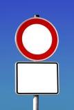 κυκλοφορία σημαδιών Στοκ Εικόνα