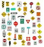 κυκλοφορία σημαδιών απεικόνιση αποθεμάτων