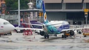 Κυκλοφορία στον αερολιμένα Phuket απόθεμα βίντεο