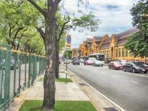 Κυκλοφορία Sanam Luang bangkok thailand στοκ φωτογραφία με δικαίωμα ελεύθερης χρήσης