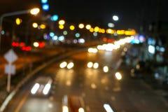 Κυκλοφοριακή συμφόρηση στο δρόμο έξω από την πόλη της εθνικής μέρας στοκ φωτογραφίες