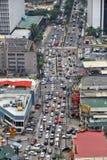 Κυκλοφοριακή συμφόρηση της Μανίλα στοκ φωτογραφίες με δικαίωμα ελεύθερης χρήσης