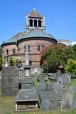 Κυκλική εκκλησιαστική εκκλησία Στοκ φωτογραφία με δικαίωμα ελεύθερης χρήσης