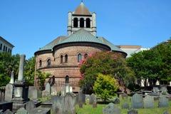 Κυκλική εκκλησιαστική εκκλησία Στοκ Εικόνες