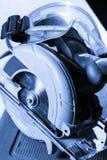 Κυκλική λεπίδα πριονιών στοκ φωτογραφία