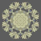 Κυκλική διακόσμηση deco τέχνης Στοκ εικόνες με δικαίωμα ελεύθερης χρήσης