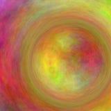 Κυκλική περίληψη χρώματος μορφής Στοκ Φωτογραφία