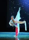 Κυκλικός ανεμιστήρας-κλασσικός χορός στοκ εικόνες