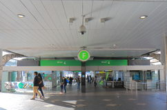 Κυκλικός σταθμός Αυστραλία αποβαθρών αποβαθρών του Σίδνεϊ στοκ φωτογραφία με δικαίωμα ελεύθερης χρήσης