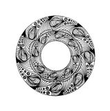 κυκλικό γραφικό σχέδιο Στοκ Εικόνα