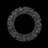 κυκλικό γραφικό σχέδιο Στοκ εικόνα με δικαίωμα ελεύθερης χρήσης