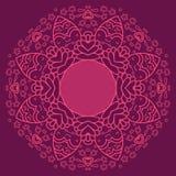 Κυκλικό διακοσμητικό γεωμετρικό σχέδιο Στοκ φωτογραφίες με δικαίωμα ελεύθερης χρήσης