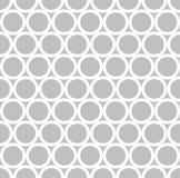 κυκλικό μονοχρωματικό σχέδιο Στοκ Εικόνα