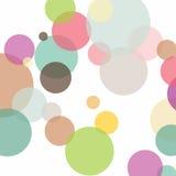 Κυκλικό χρωματισμένο γεωμετρικό σχέδιο Στοκ Φωτογραφία