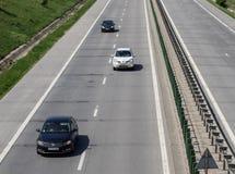Κυκλοφορία αυτοκινητόδρομων Στοκ φωτογραφία με δικαίωμα ελεύθερης χρήσης