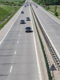 Κυκλοφορία αυτοκινητόδρομων Στοκ εικόνες με δικαίωμα ελεύθερης χρήσης
