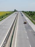 Κυκλοφορία αυτοκινητόδρομων Στοκ εικόνα με δικαίωμα ελεύθερης χρήσης