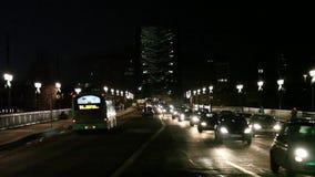Κυκλοφορία γεφυρών Τάιν απόθεμα βίντεο
