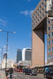 Κυκλοφορία και άνθρωποι γεφυρών του Λονδίνου Στοκ φωτογραφίες με δικαίωμα ελεύθερης χρήσης