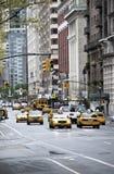 Κυκλοφορία πόλεων της Νέας Υόρκης Στοκ Εικόνες