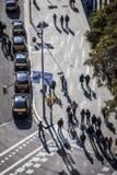 Κυκλοφορία σε Plaza Espana Στοκ Φωτογραφίες
