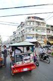 Κυκλοφορία σε Pnom Penh, Καμπότζη Στοκ εικόνες με δικαίωμα ελεύθερης χρήσης