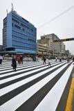 Κυκλοφορία στην οδό της Λίμα, Περού Στοκ φωτογραφίες με δικαίωμα ελεύθερης χρήσης