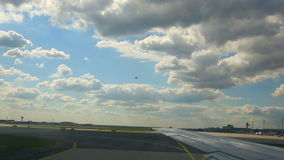Κυκλοφορία στον αερολιμένα της Φρανκφούρτης απόθεμα βίντεο