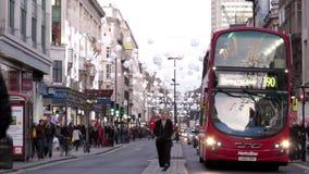 Κυκλοφορία του Λονδίνου απόθεμα βίντεο