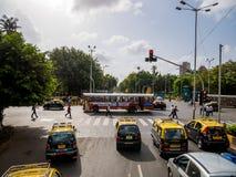 Κυκλοφορία Mumbai Στοκ Φωτογραφία