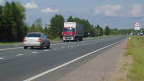 Κυκλοφοριακή ροή στην εθνική οδό φιλμ μικρού μήκους